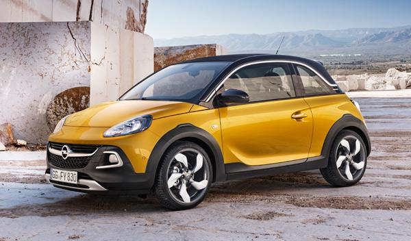 Opel Adam Rocks delantera