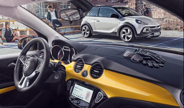 Opel Adam Rocks interior