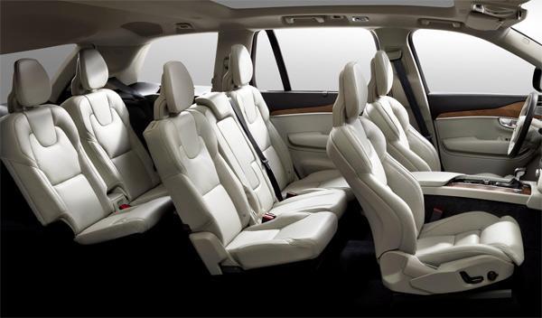 Volvo XC90 2014 asientos