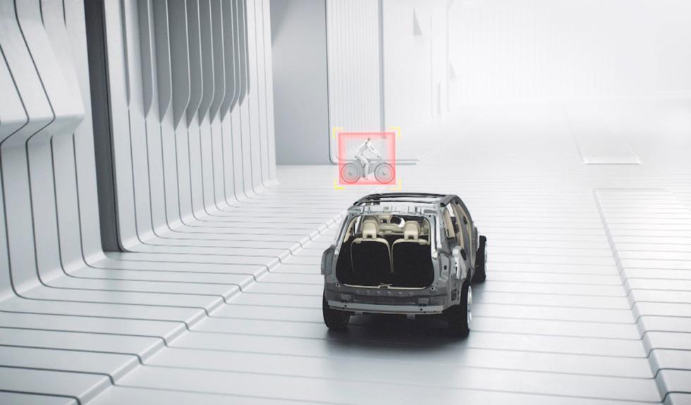 Volvo XC90 detector de ciclista
