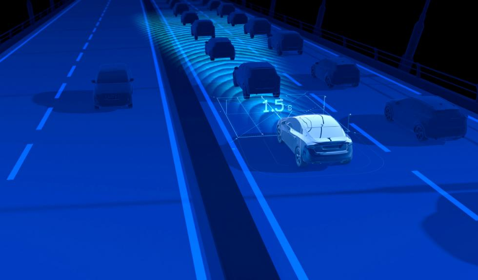 Volvo XC90 radar de proximidad