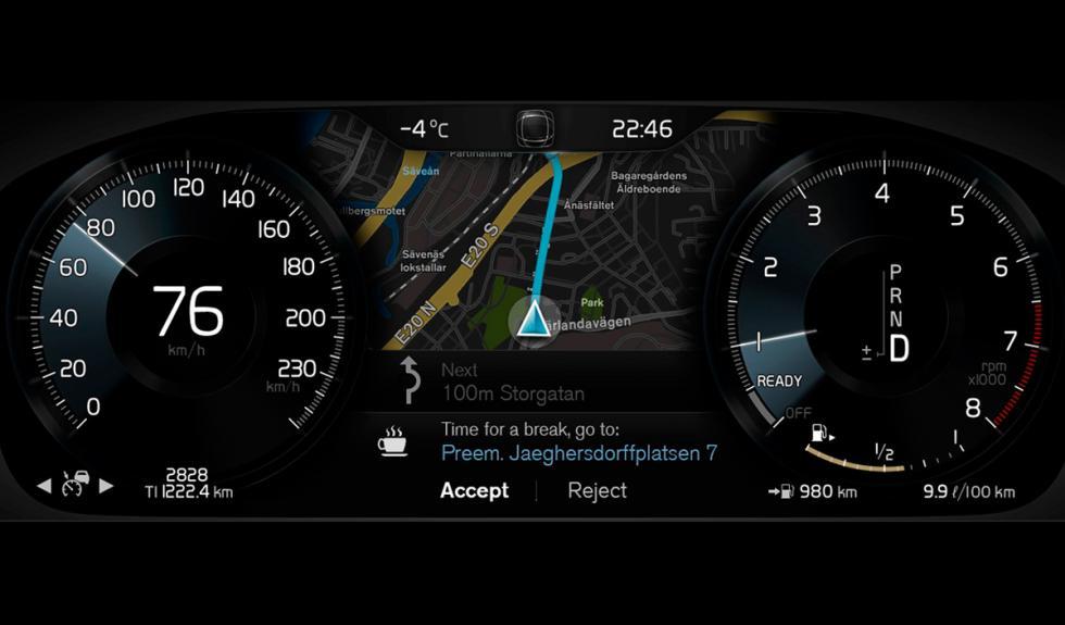 Volvo XC90 detector de cansancio