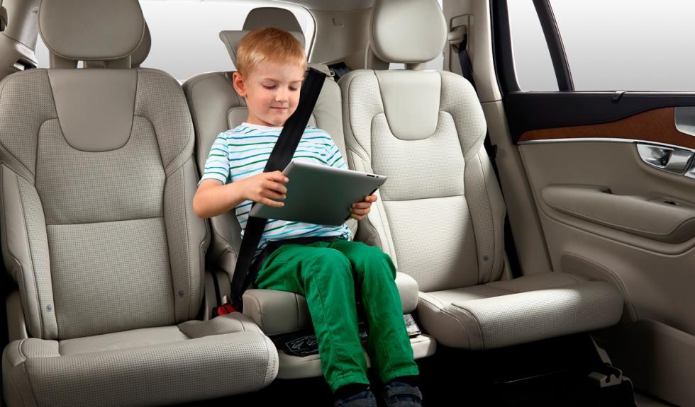 Volvo XC90 alzador de asiento