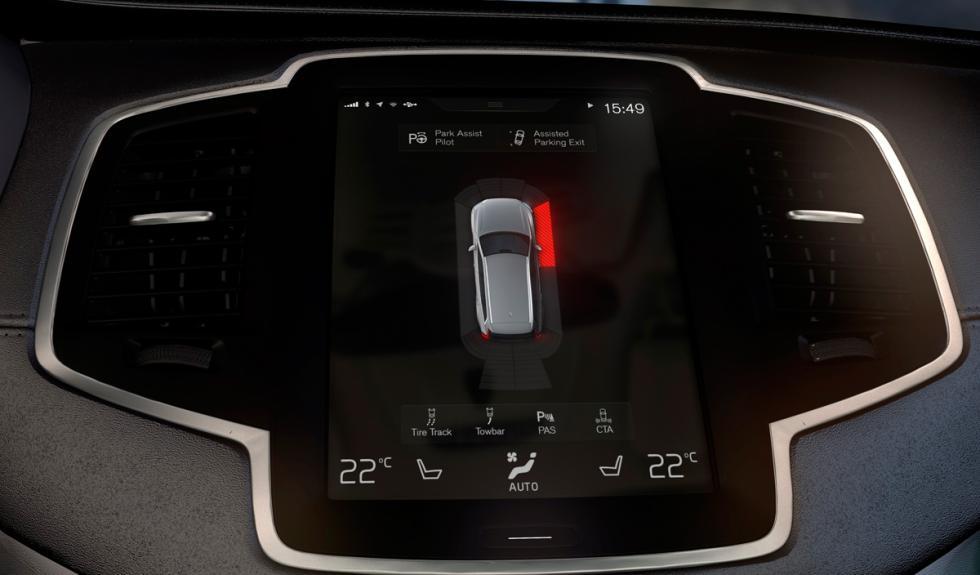 Volvo XC90 sensores de aparcamiento