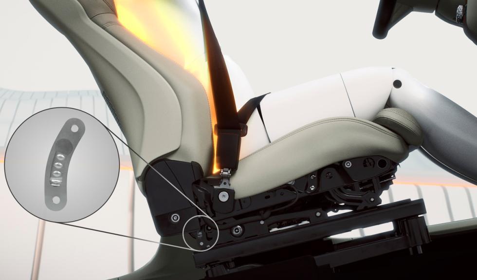 Volvo XC90 cinturones de seguridad