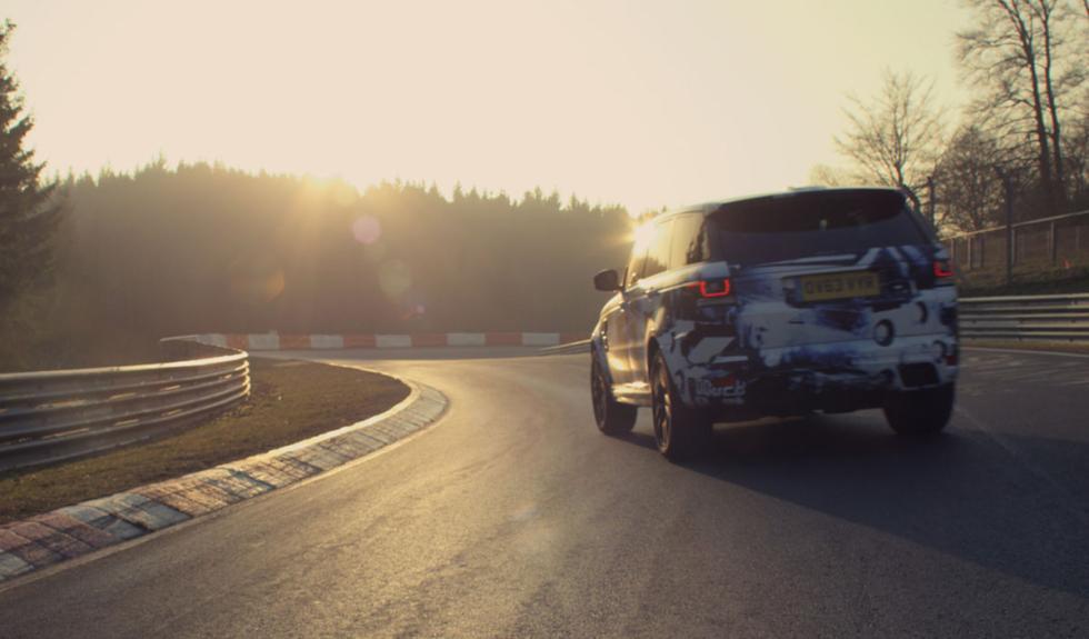 Range Rover Sport récord Nürburgring