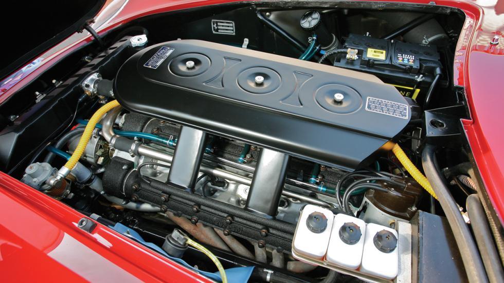 El motor del Ferrari 275 GTB/4 de Steve McQueen