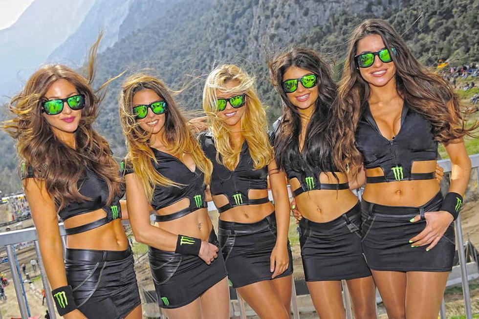 Las chicas 'sexys' de Monster Energy