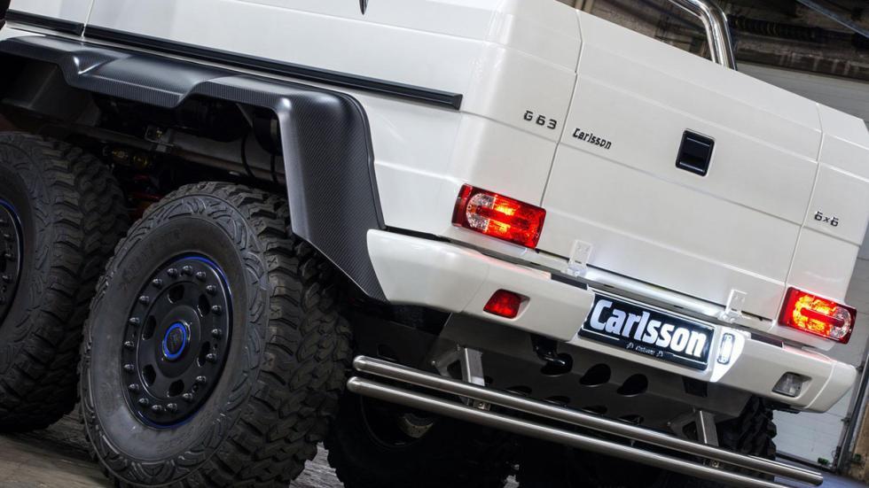 Carlsson G63 AMG 6x6 detalle