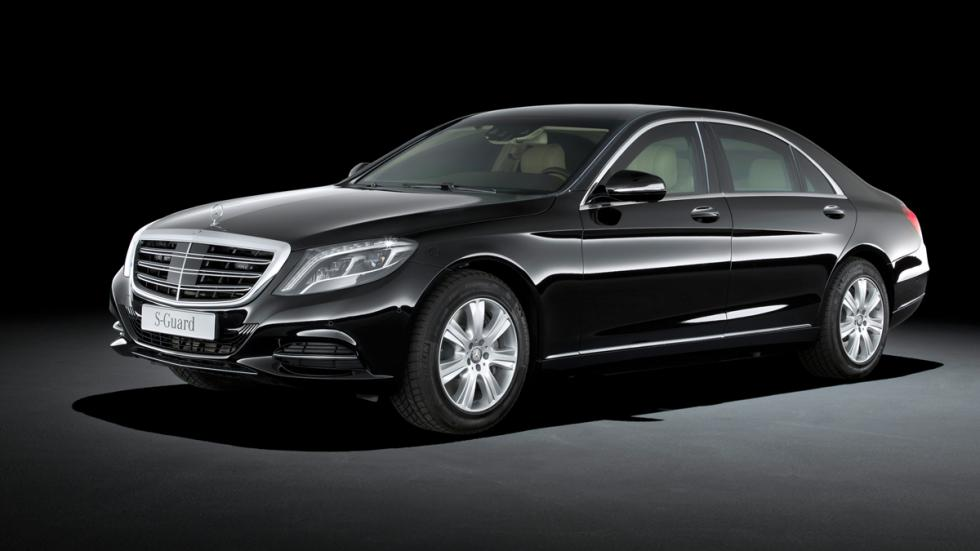 Mercedes S600 Guard - lateral delantero
