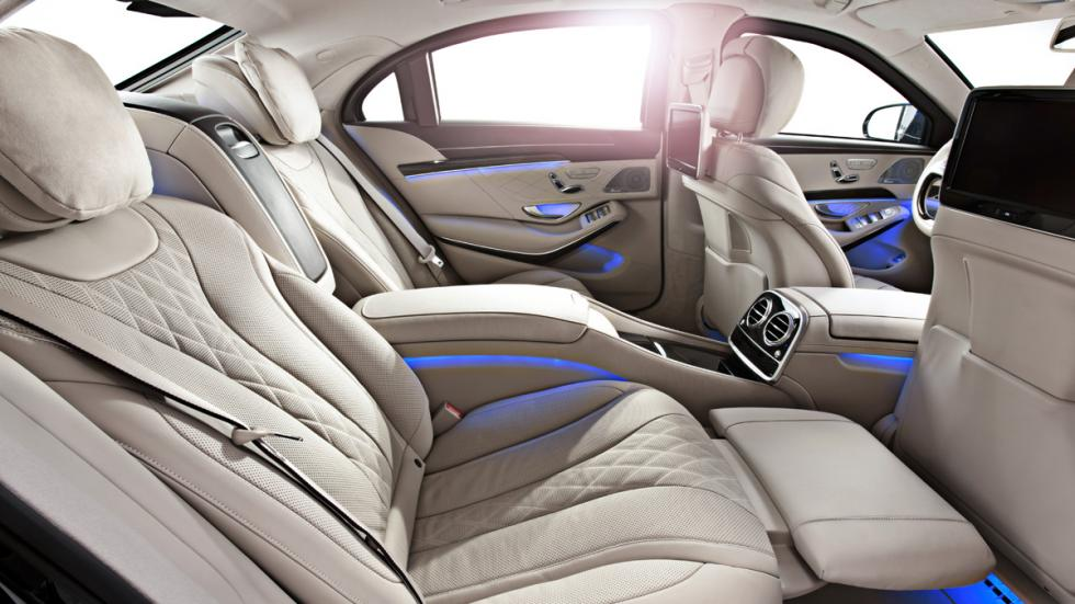 Mercedes S600 Guard - interior