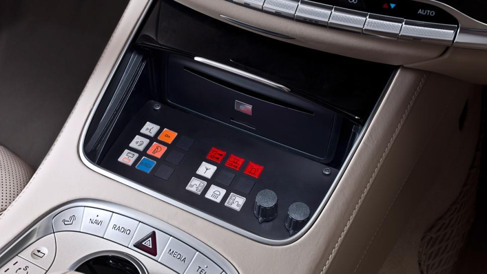 Mercedes S600 Guard - mandos de control