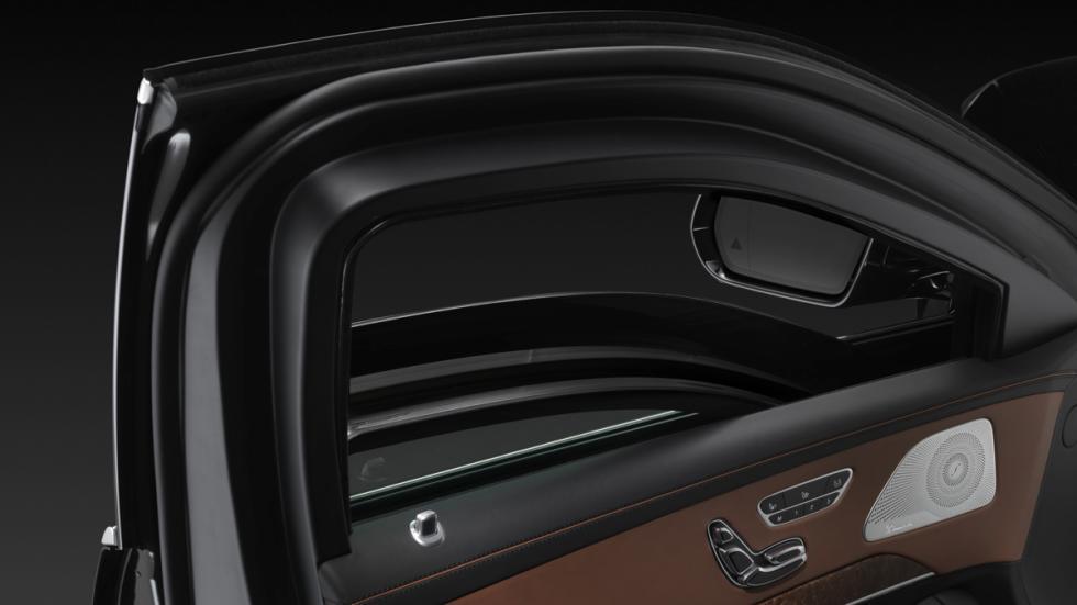 Mercedes S600 Guard - puerta