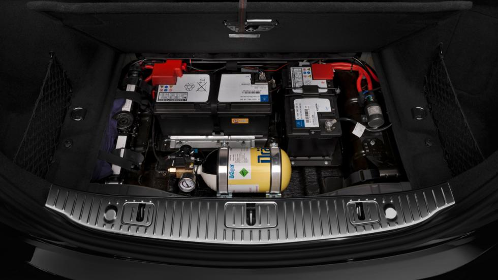 Mercedes S600 Guard - calderín y baterías