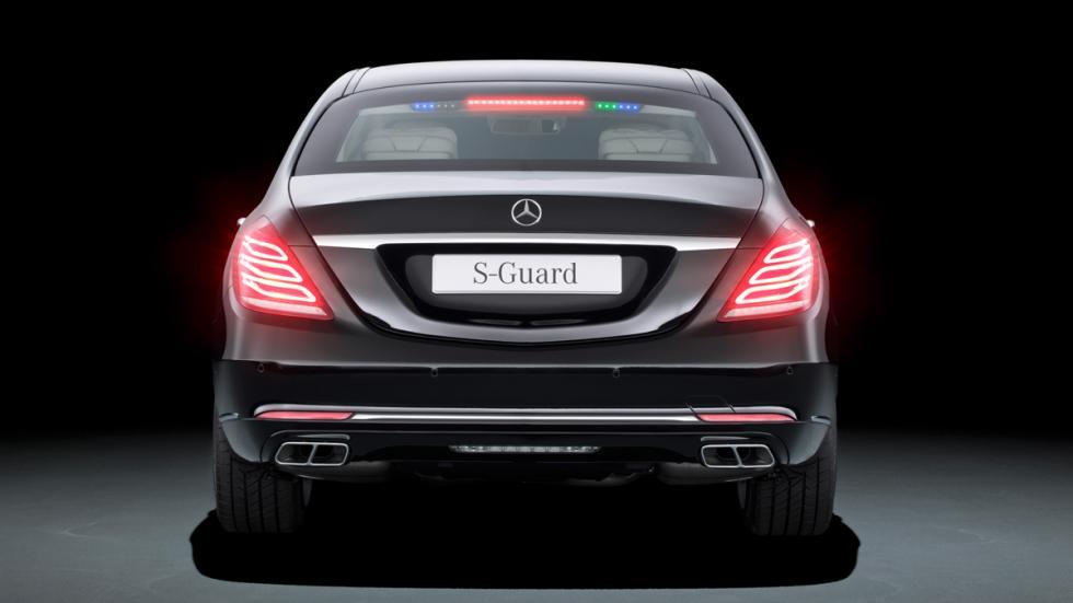 Mercedes S600 Guard - trasera