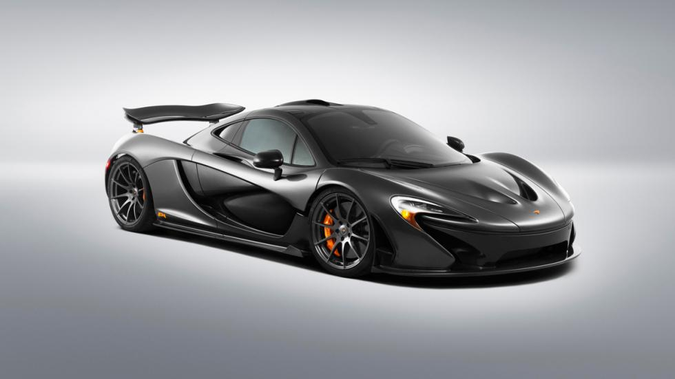 McLaren P1 vista frontal-lateral