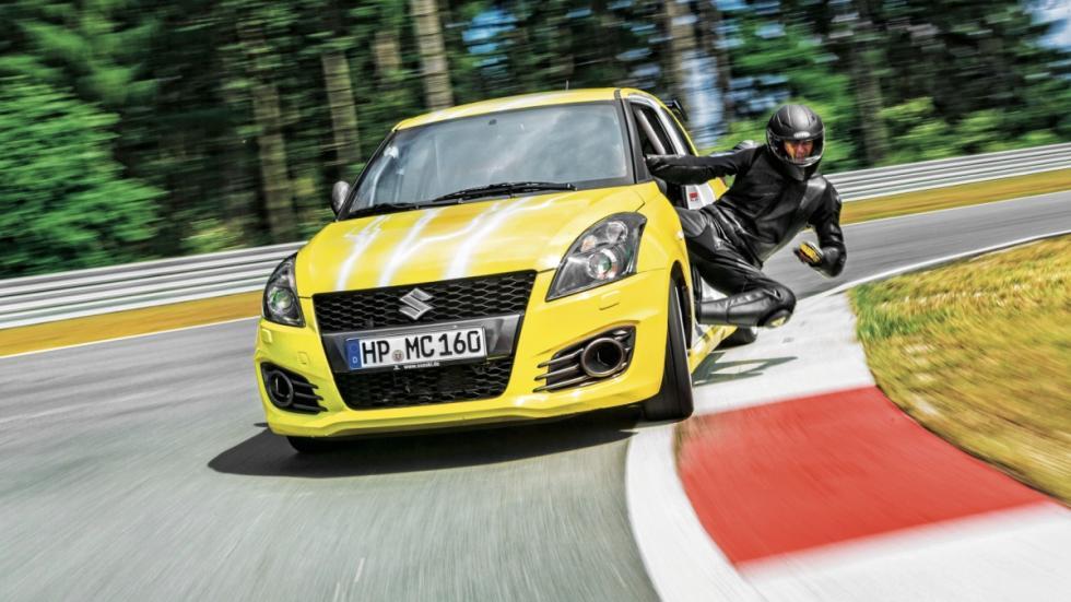 Suzuki Swift Sport Hayabusa frontal