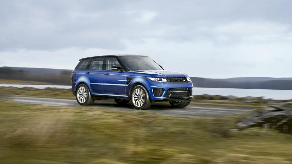 Land Rover Range Rover Sport SVR 2014 lateral
