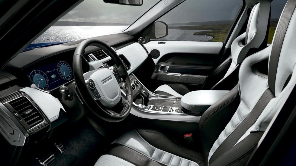 Land Rover Range Rover Sport SVR 2014 interior