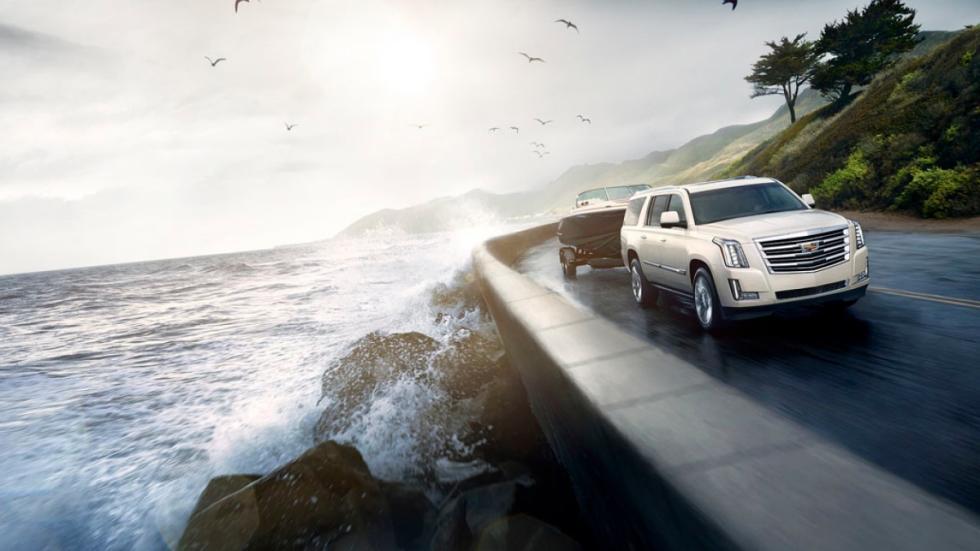 Cadillac Escalade Platinum dinamica
