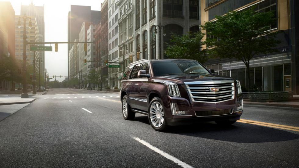 Cadillac Escalade Platinum frontal