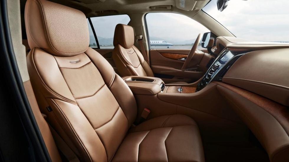 Cadillac Escalade Platinum asientos