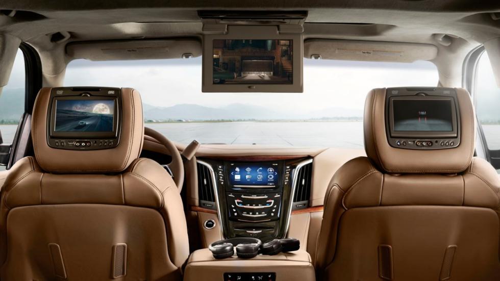 Cadillac Escalade Platinum interior