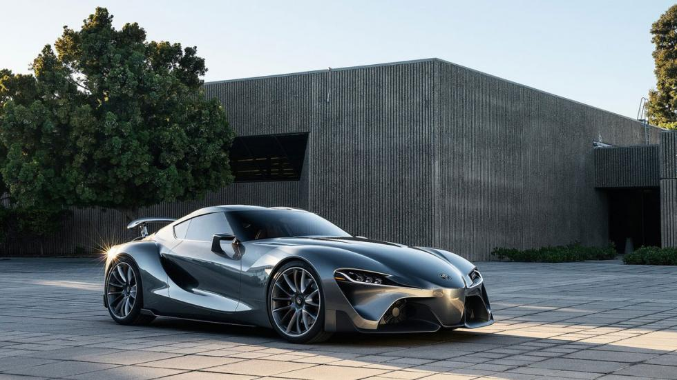 Toyota FT-1 Graphite Concept delantera