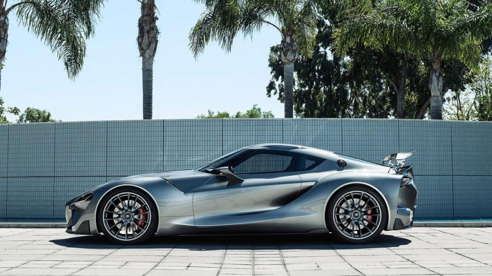 Toyota FT-1 Graphite Concept lateral