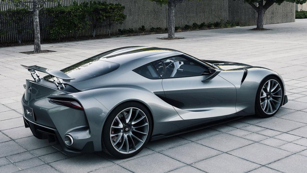 Toyota FT-1 Graphite Concept lateral trasera