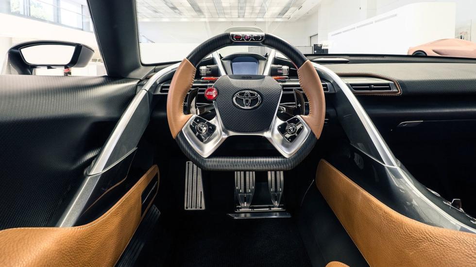 Toyota FT-1 Graphite Concept salpicadero