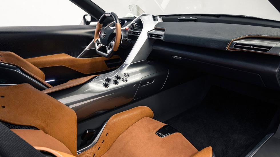 Toyota FT-1 Graphite Concept interior