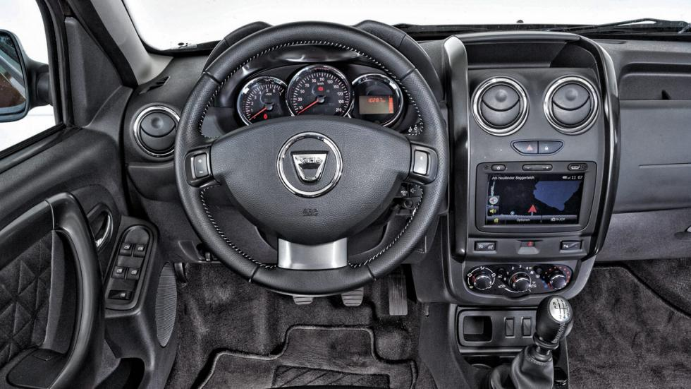 Interior del Dacia Duster