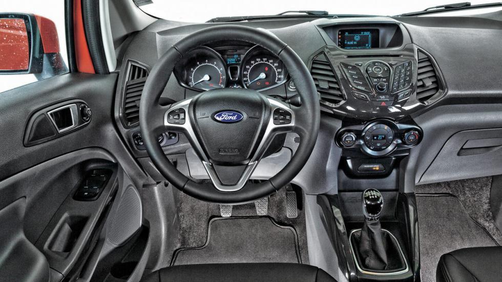 Interior del Ford EcoSport