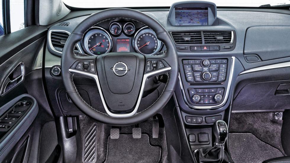 Interior del Opel Mokka