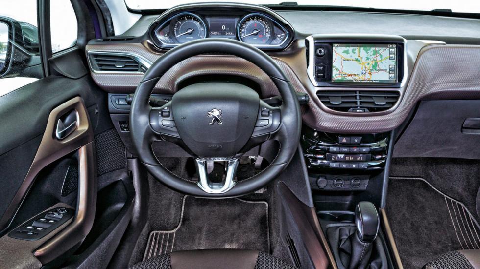 Interior del Peugeot 2008