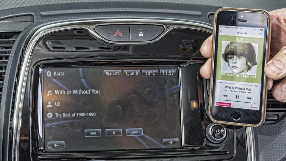 Conectividad del Renault Captur