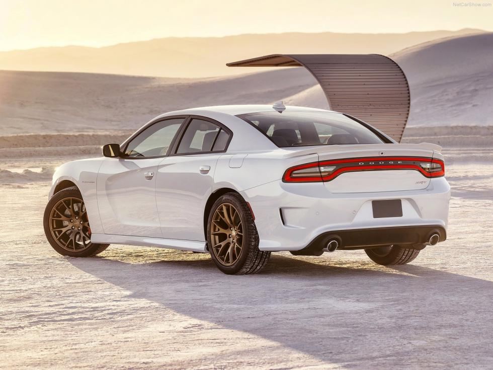 Dodge Charger SRT Hellcat 2015 tres cuartos trasera