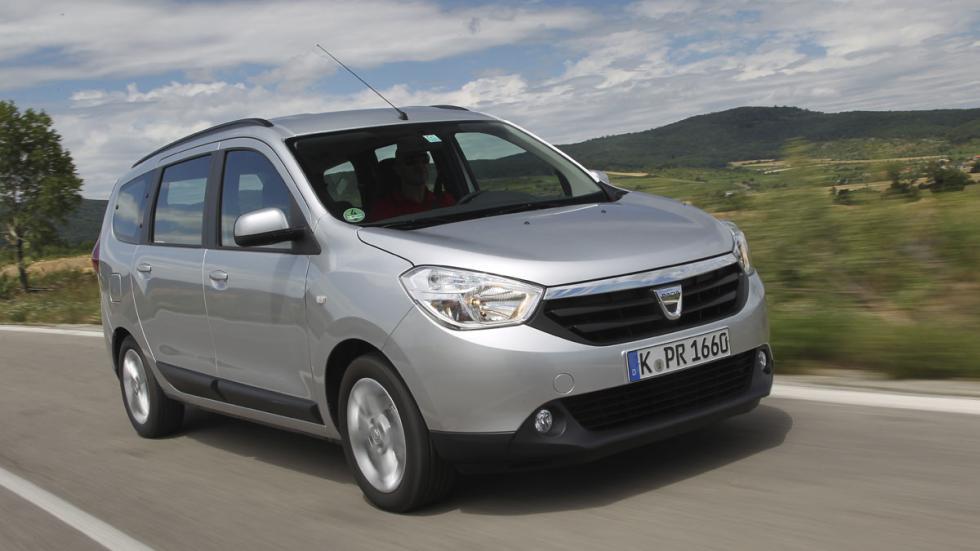 Dacia Lodgy GLP frontal
