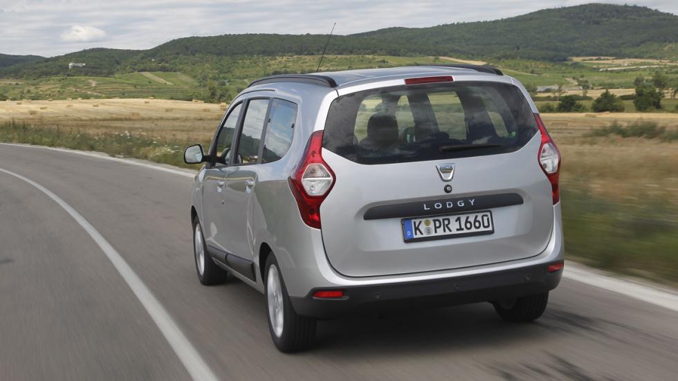 Dacia Lodgy GLP trasera