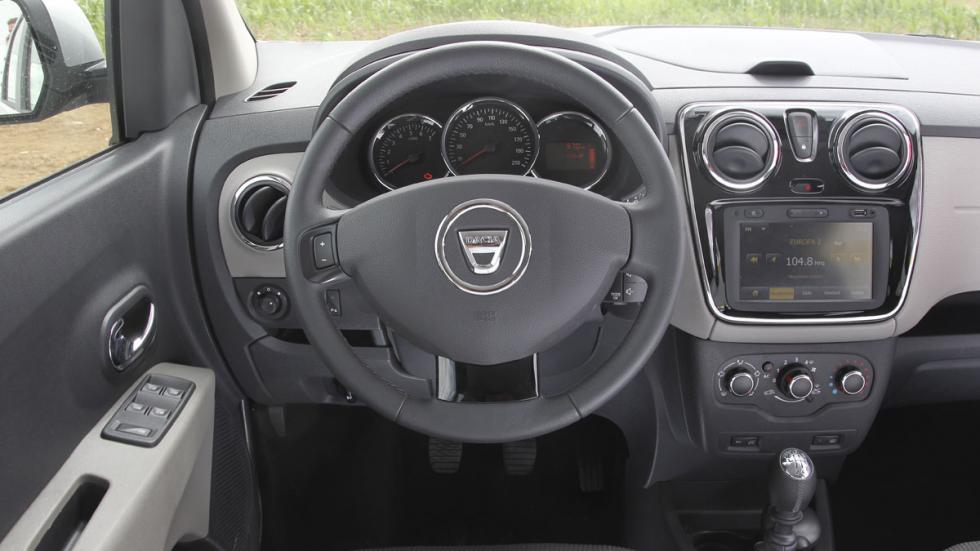 Dacia Lodgy GLP interior