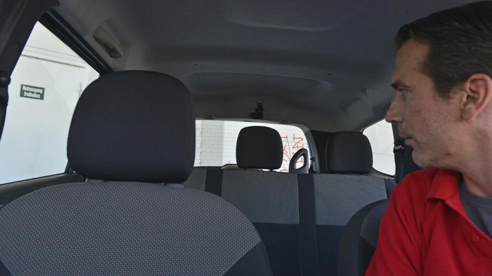 Dacia Lodgy GLP espacio interior