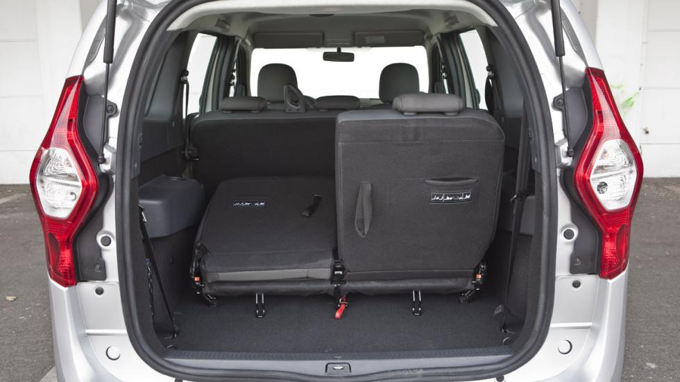 Dacia Lodgy GLP maletero tres filas