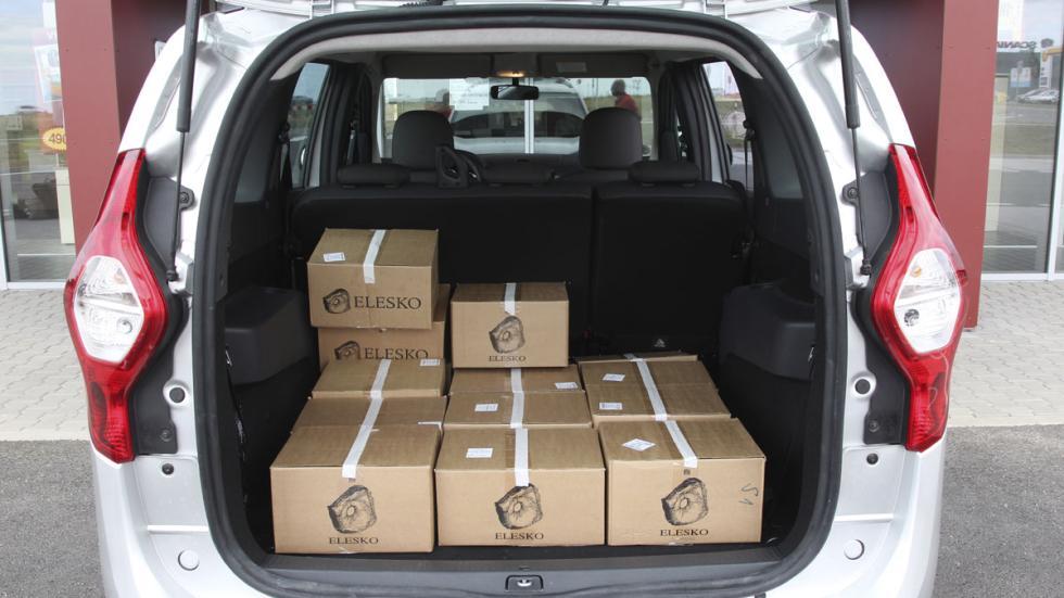 Dacia Lodgy GLP maletero