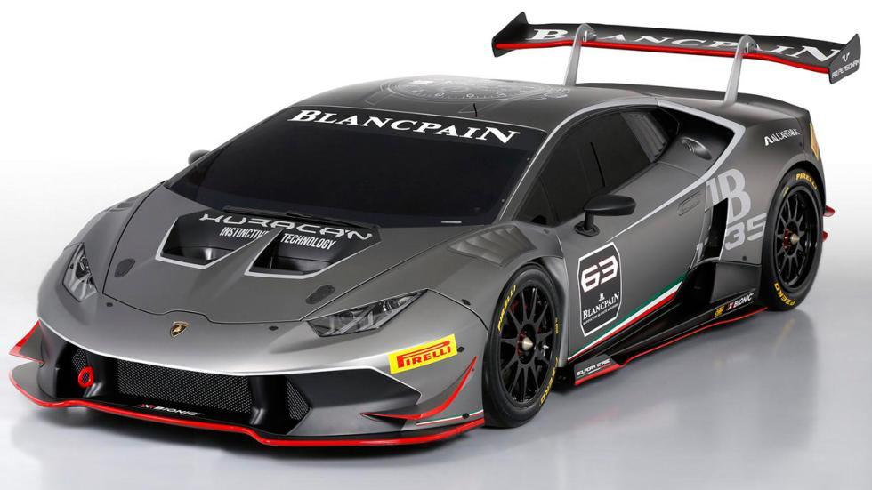 Lamborghini Huracan Super Trofeo - lateral delantero