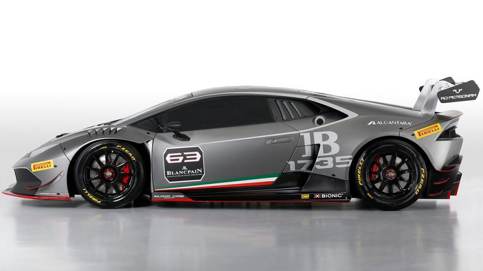 Lamborghini Huracan Super Trofeo - lateral