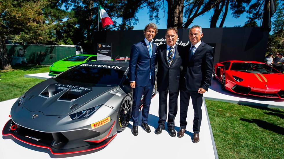 Lamborghini Huracan Super Trofeo - presentación