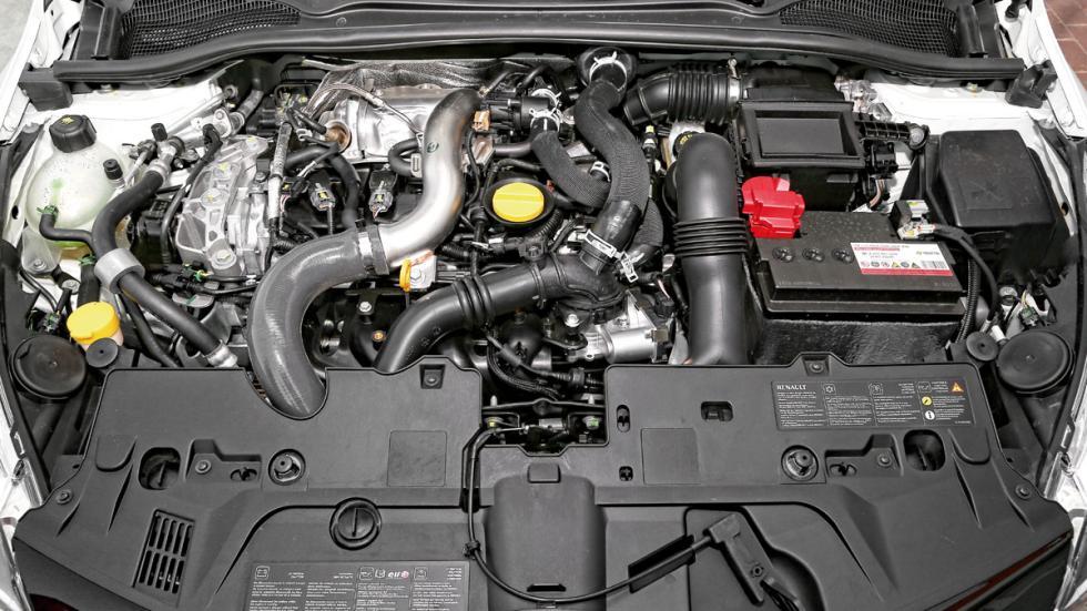 Motor del Renault Clio RS Mónaco GP