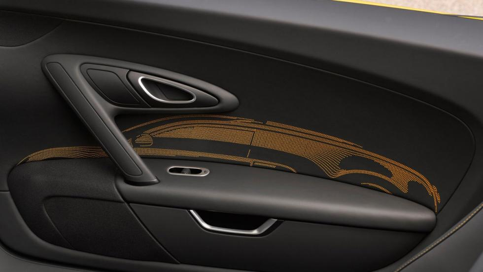 Bugatti Veyron Grand Sport Vitesse One of One láser interior