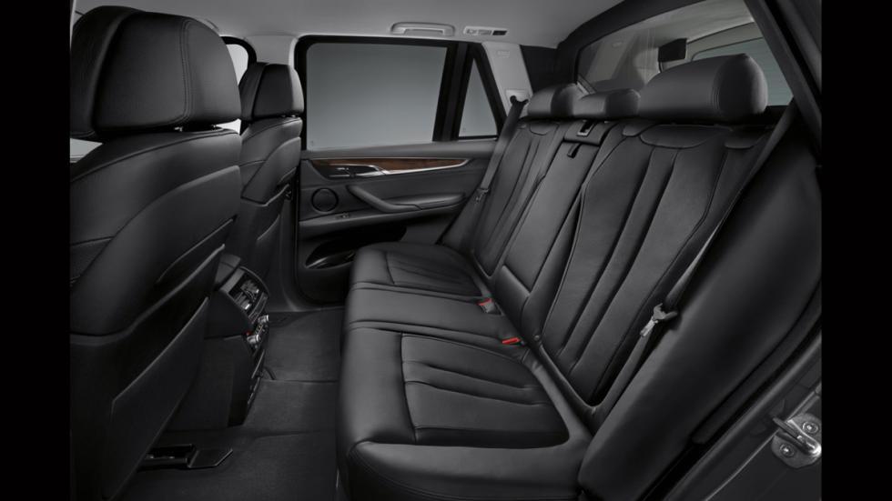 BMW X5 Security Plus - plazas traseras